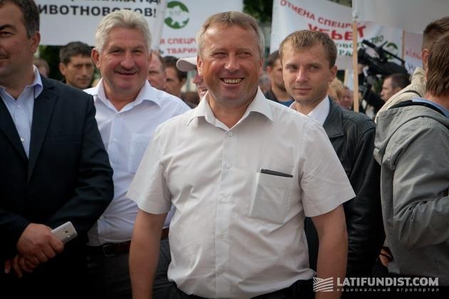 Андрей Остапчук, руководитель предприятия «Світанок», Хмельницкая область
