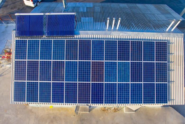 МХП тестирует солнечные панели