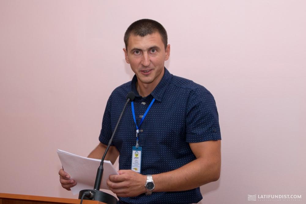 Андрей Поленок, заведующий отделом технологии Института риса