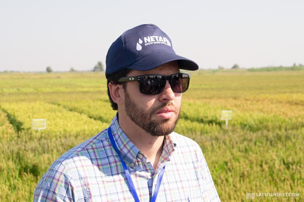 Карлос Санчес, менеджер по агрономии «Нетафим Бразилия»