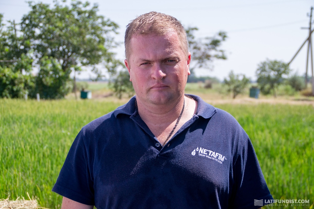 Анатолий Кузьмич, агроном компании «Нетафим Украина»