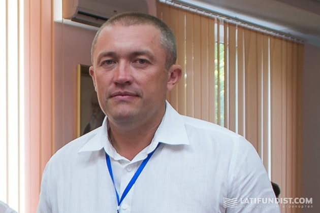 Volodymyr Dudchenko, Director of the Institute of rice