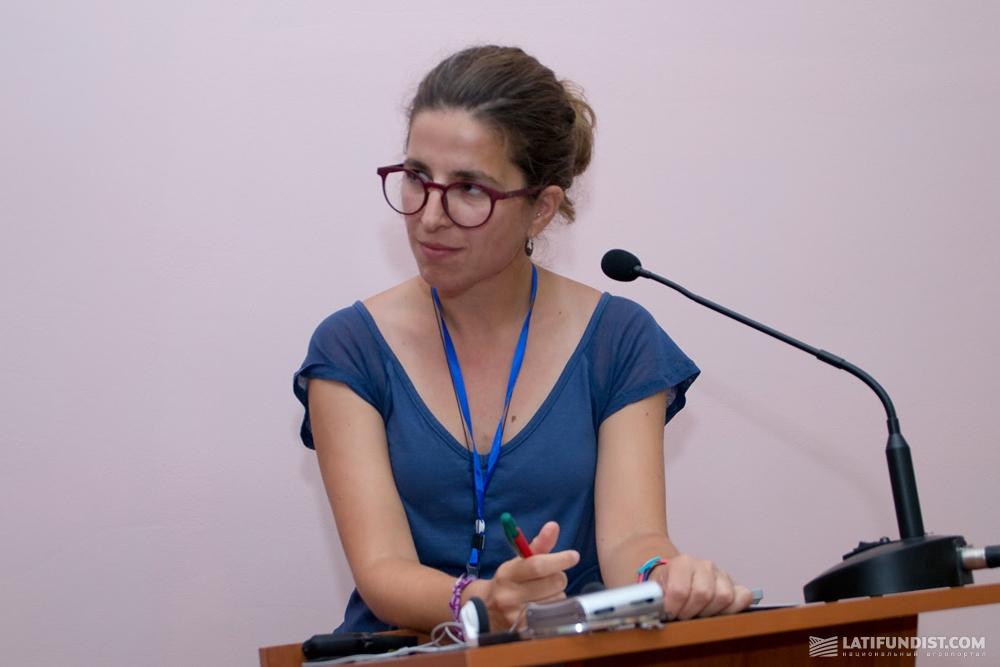 Лаура Ровира Пиджем, агроном Agrupació de Defensa Vegetal de l'Arròs de Pals (Испания)