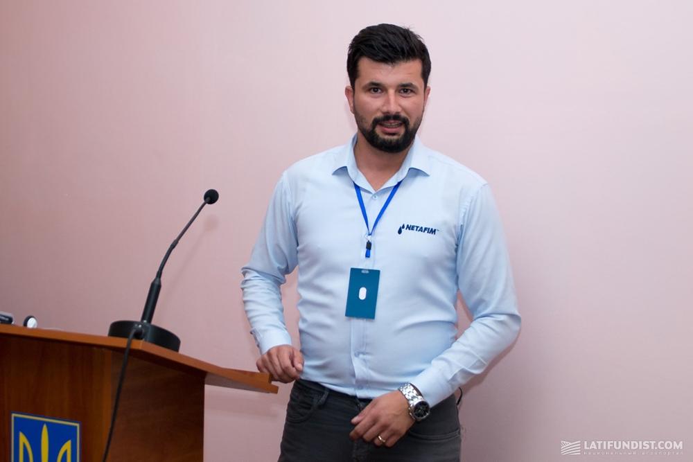 Киванч Сарлар, главный агроном «Нетафим Турция»