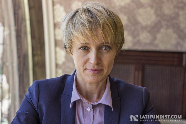 Ольга Трофимцева, заместитель министра аграрной политики и продовольствия Украины по вопросам европейской интеграции