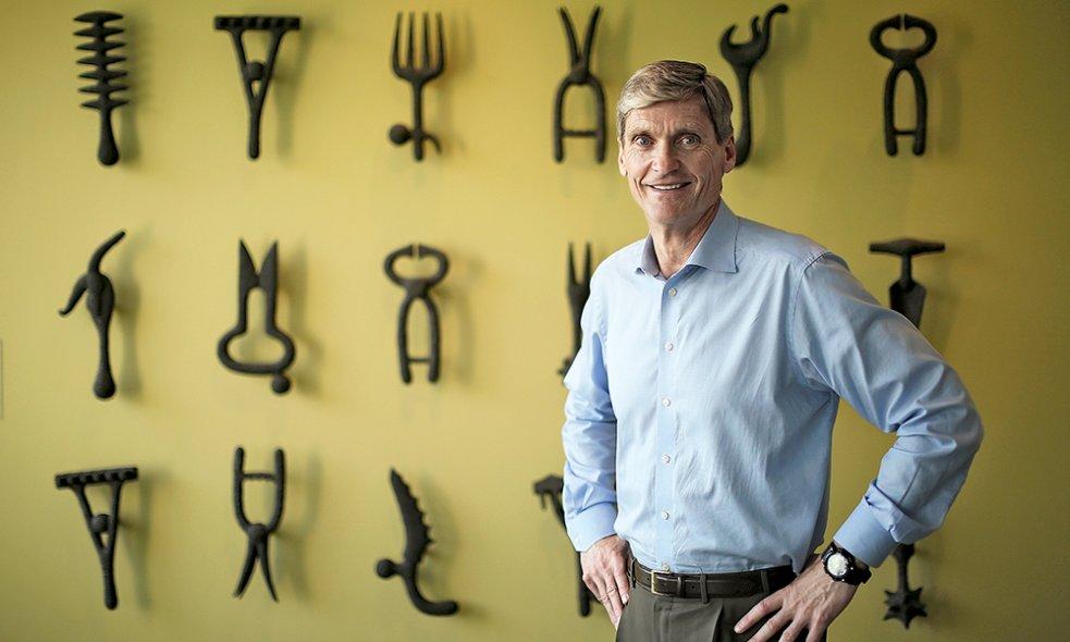 Эрик Фирвальд, Главный исполнительный директор Syngenta AG (фото:bilanz.ch)