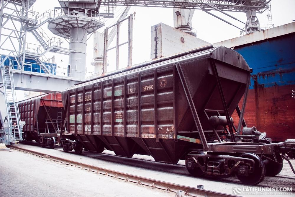 Парк подвижного состава ЦТЛ — это порядка 11 тыс. вагонов-зерновозов