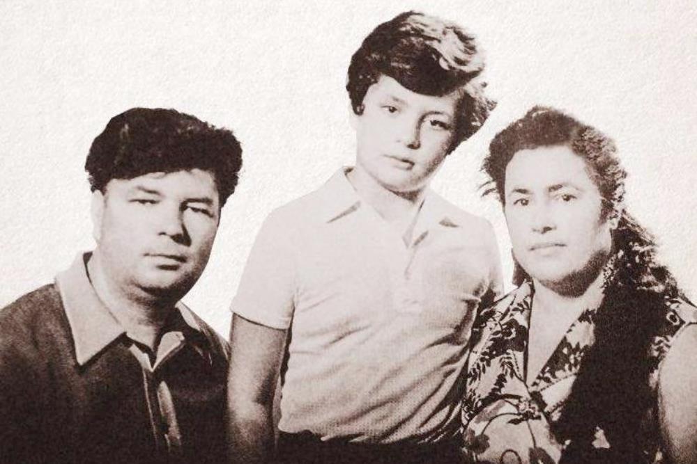 Алексей и Евгения Порошенко с сыном Петром