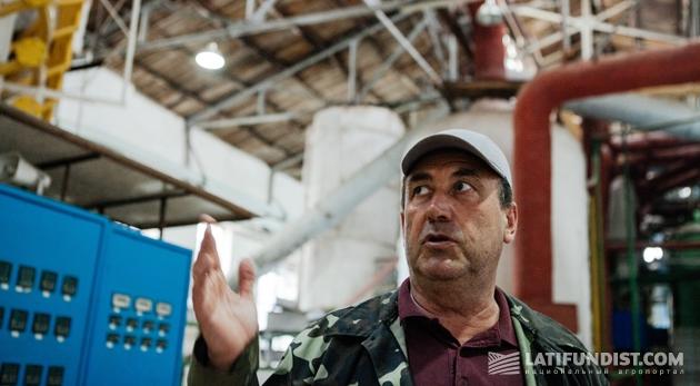Сергей Затула, замдиректора по производству Ждановского сахарного завода