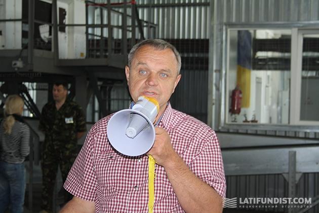 Владимир Степанчук, директор семенного завода Сварог Вест Груп
