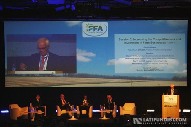 FFA 2014 — Forum for the Future of Agriculture