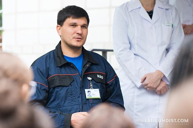 Руководитель отдела полевых испытаний Виталий Нагорный