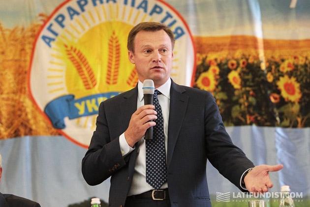 Виталий Скоцик, глава Аграрной партии Украины