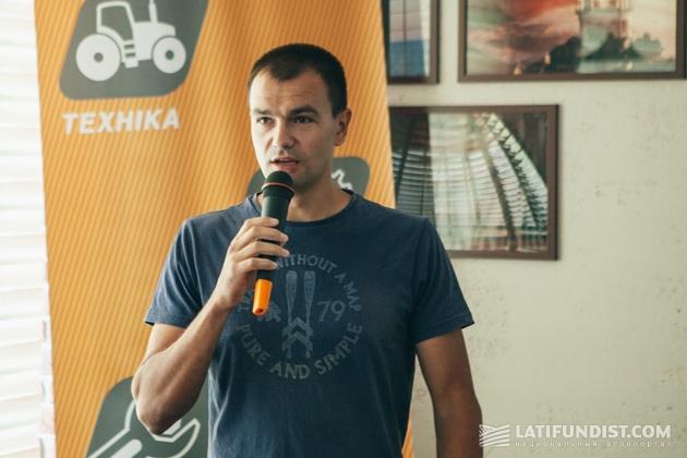Алексей Васильченко, замдиректора компании «Агрофирма «Маяк»