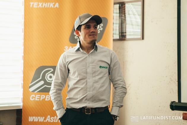 Густаво Дантас, менеджер по международному развитию компании Irriger