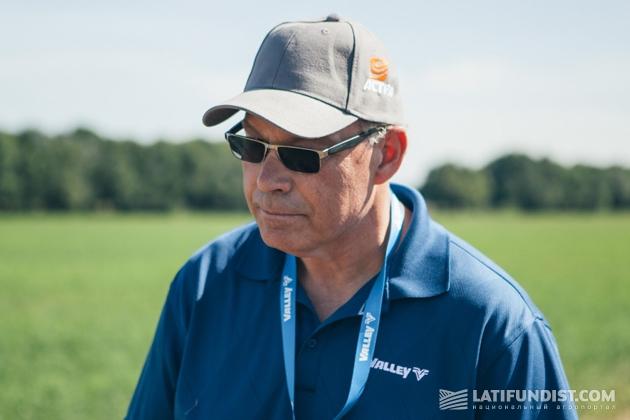 Скот Мосез, директор по международному сервису и разработке новых продуктов компании Valmont