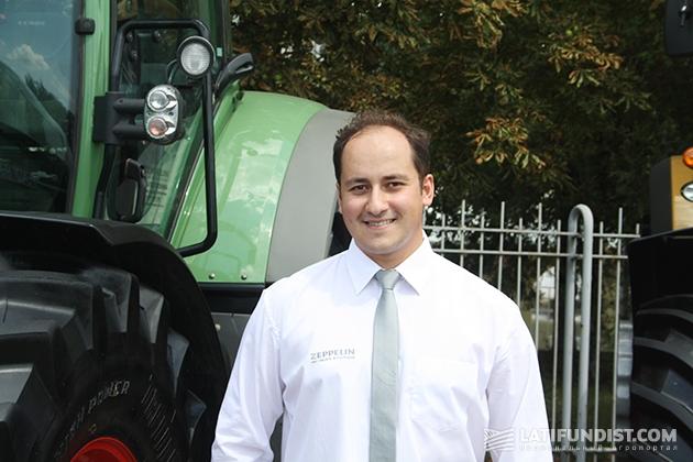 Абу Хадид Фарид, руководитель подразделения продаж сельскохозяйственной техники Zeppelin