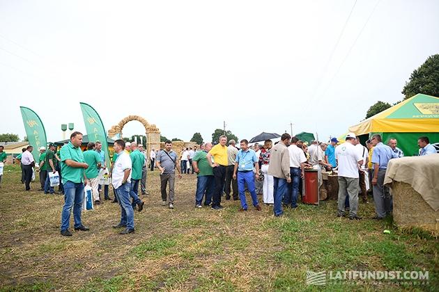 Аграрии на Дне поля компании «Агропродсервис»