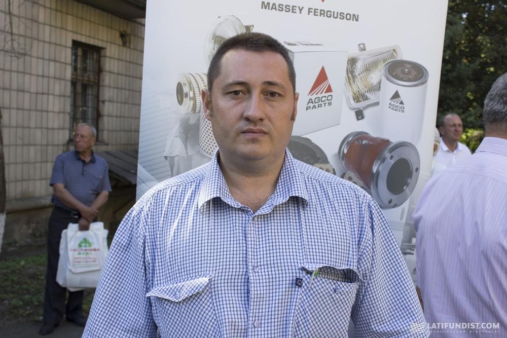 Анатолий Гирка, заместитель директора по научно-производственной деятельности Института зерновых культур НААН Украины