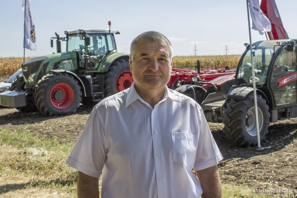 Леонид Сухомлин, директор департамента земледелия и технической политики министерства аграрной политики и продовольствия Украины