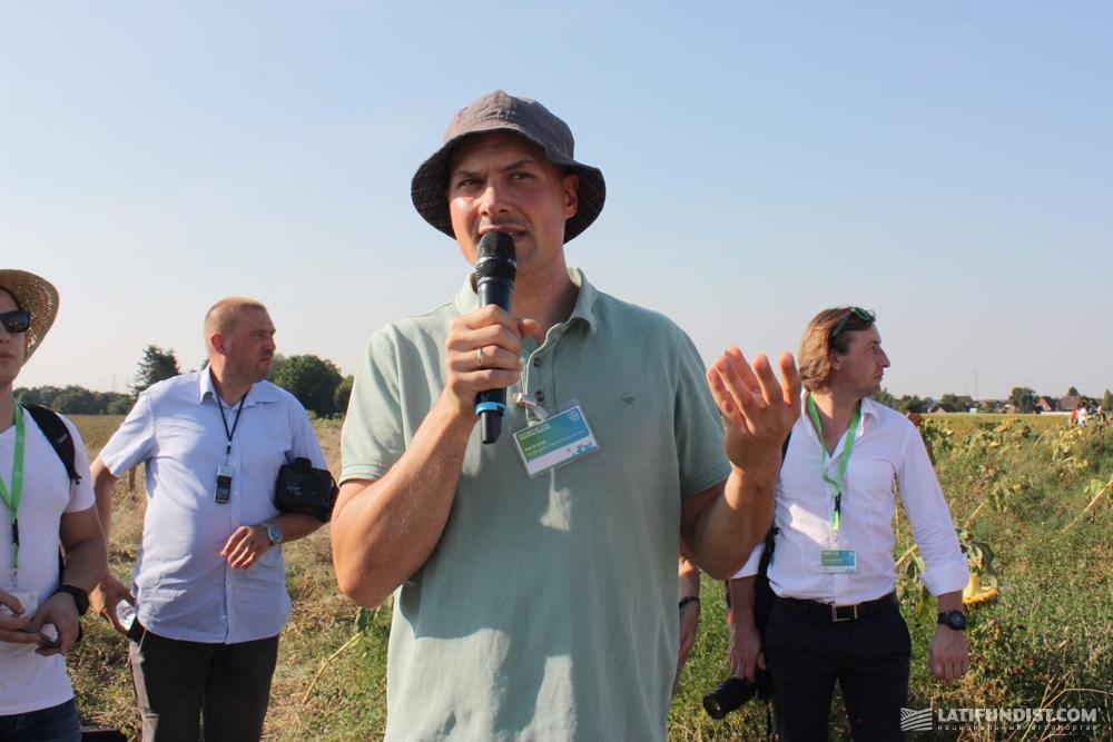 Патрик Линд, специалист компании FlächenAgentur Rheinland GmbH