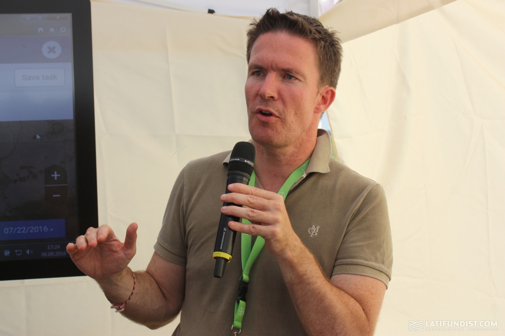 Тобиас Менне, руководитель подразделения Digital Farming