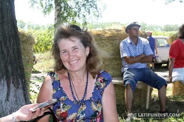 Новичок в агробизнесе Алла Циба, ФОП «Циба», на 3 тыс. га выращивает овощи на открытом и закрытом грунте