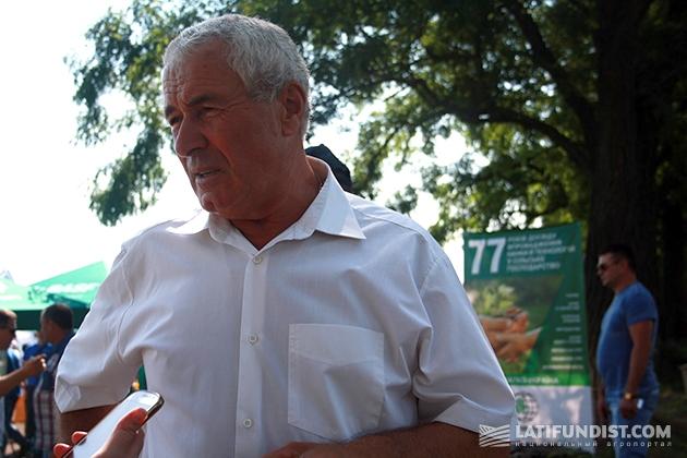 Душейко Петро Григорьевич, создатель корпорации «Днипро», вспоминает, как пришел в сельское хозяйство