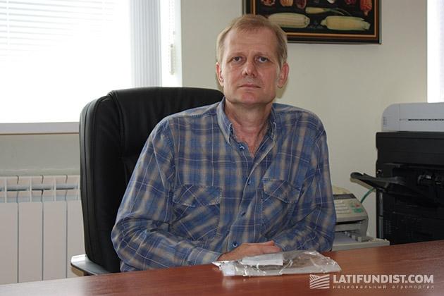 Роман Сербай, научный сотрудник научно-исследовательского центра в с. Любарцы DuPont Pioneer Украина