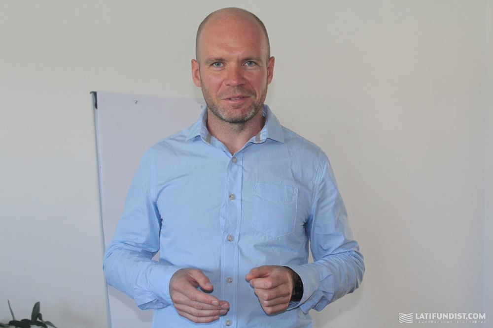 Владимир Сальников, директор «Стаси Насиння»