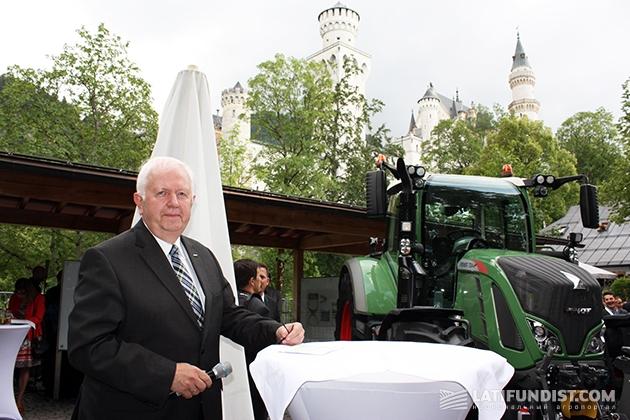 Вице-президент и исполнительный директор компании Fendt (AGCO) Петер-Йозеф Паффен