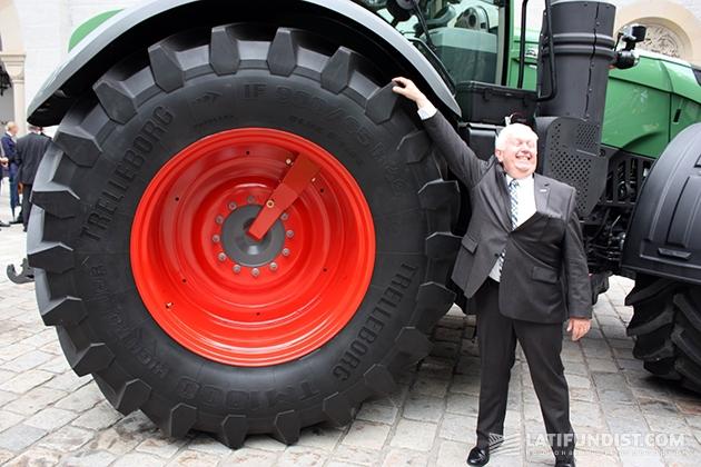 Петер-Йозеф Паффен, вице-президент и исполнительный директор компании Fendt