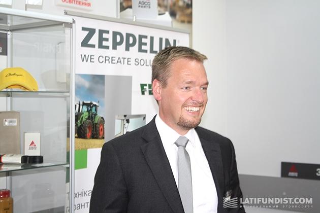 Хайко Крайзель, генеральный директор украинского представительства Zeppelin