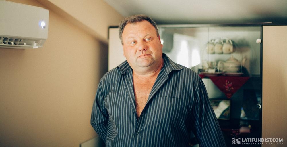 Николай Щербань, зоотехник фермерского хозяйства «Скиф»