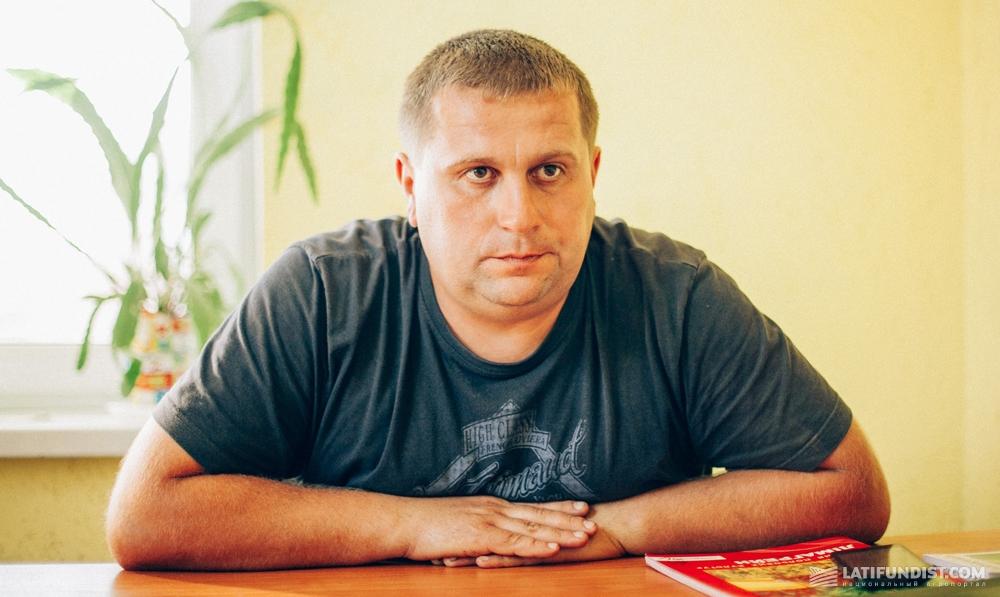Сергей Семенюта, главный агроном сельхозкооператива «Багачанский»