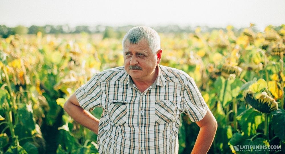 Анатолий Грунтенко, главный агроном сельхозкооператива «Андреевский»