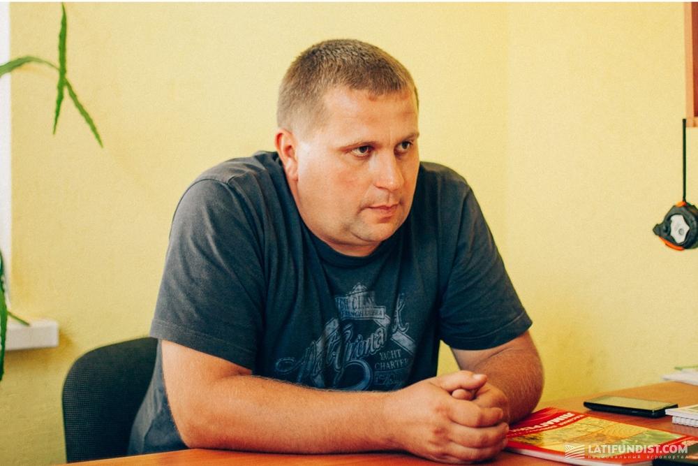 Сергей Семенюта, главный агроном кооператива «Багачанский»