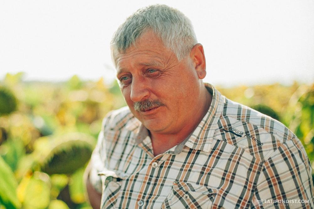 Анатолий Грунтенко, главный агроном кооператива «Андреевский»