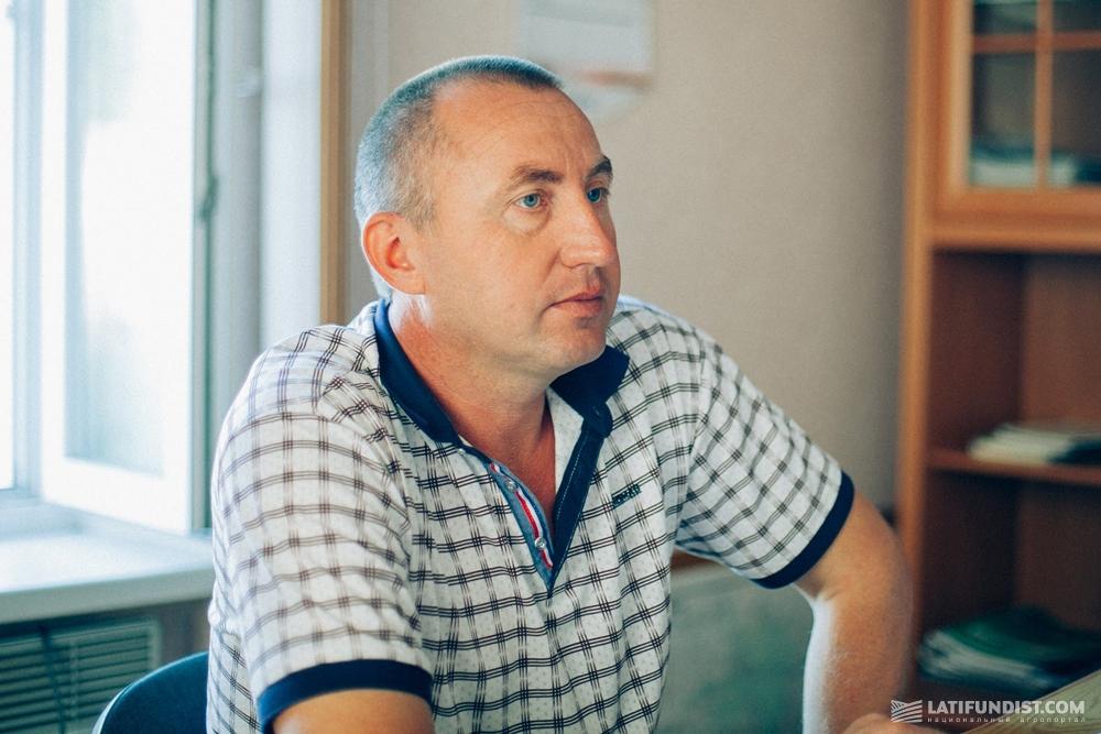 Николай Дрозд, главный агроном агропредприятия «Явир»