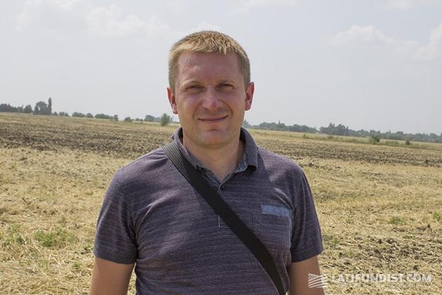 Александр Клепа, руководитель отдела продаж техники «Агроспейс»