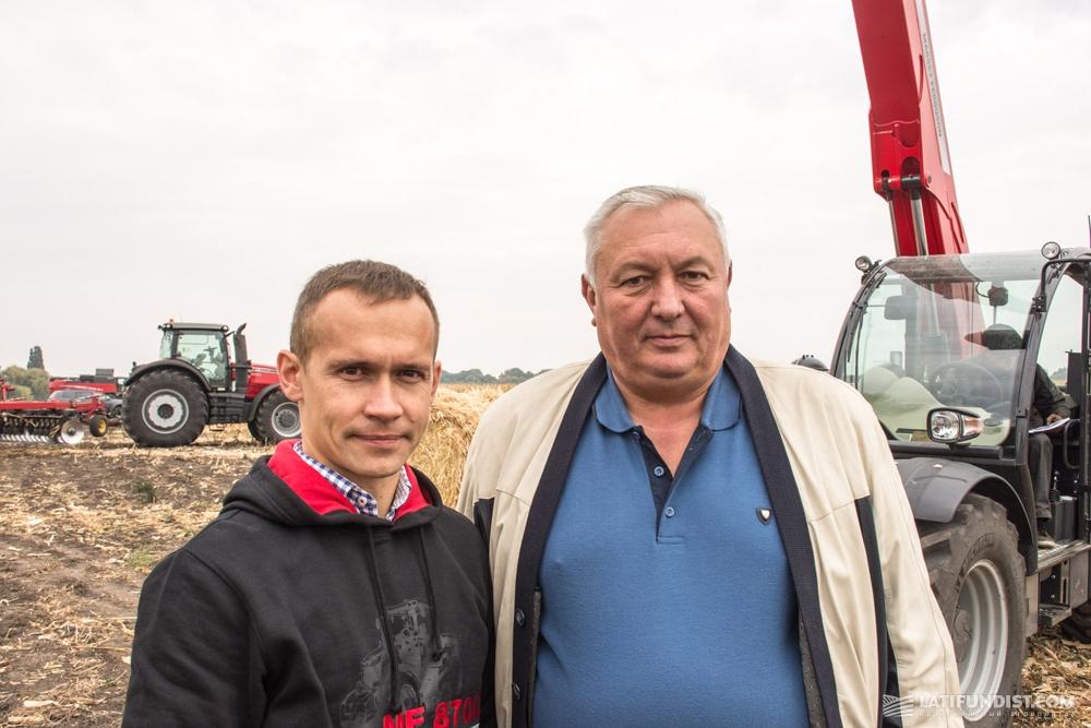 Дмитрий Бородий и Михаил Козачук