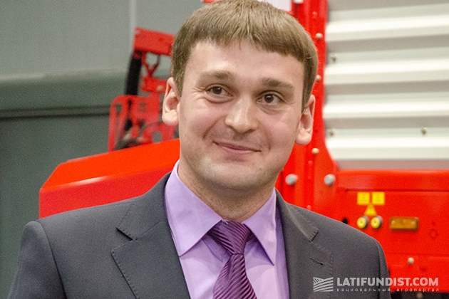 Владимир Моторный, менеджер с продажи удобрений «Бинифилд Агрохехнолоджи»