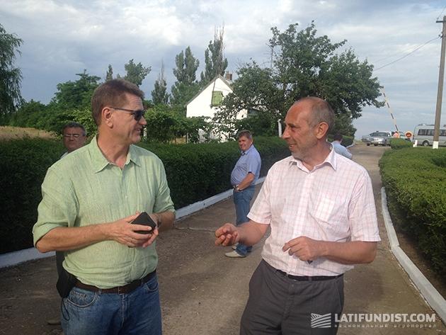 Онно Шаап (слева) и Егор Коваленко