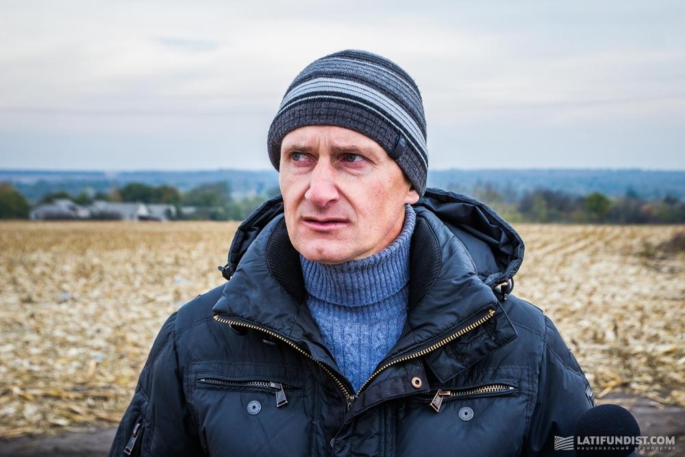 Виталий Тиран, главный агроном предприятия «АФ «Панчево»
