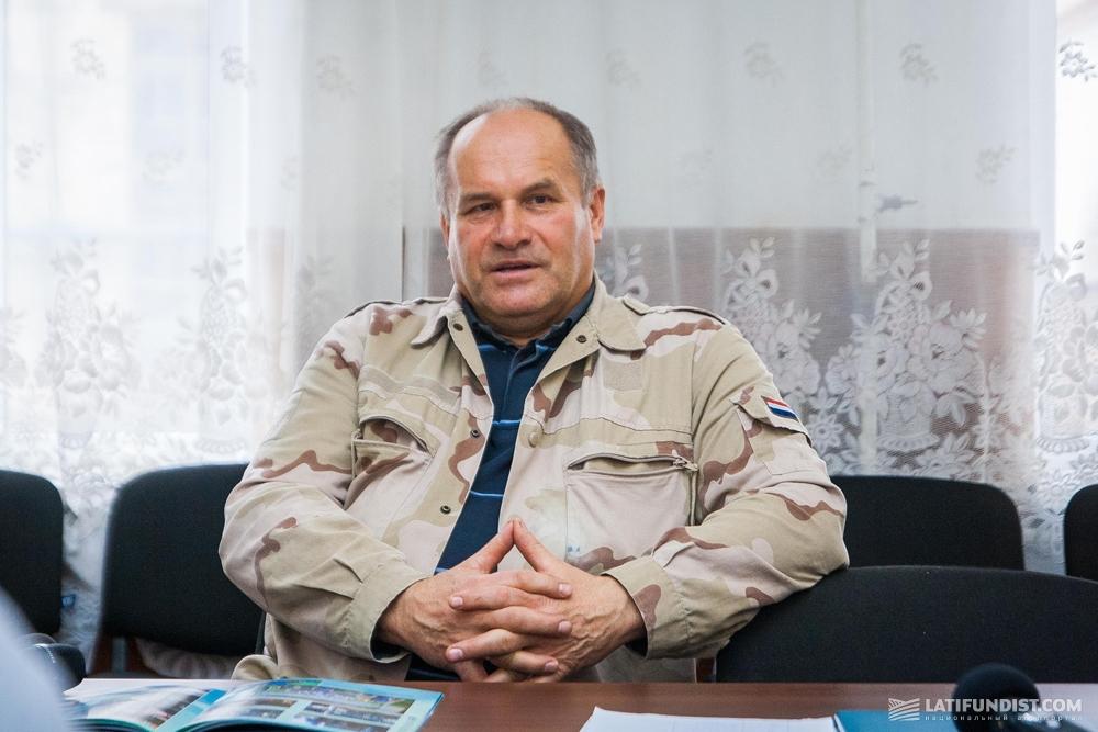 Юрий Нечипоренко, директор Капитановского сахарного завода