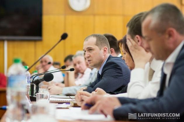 Алексей Павленко выступает в Сумской облгосадминистрации