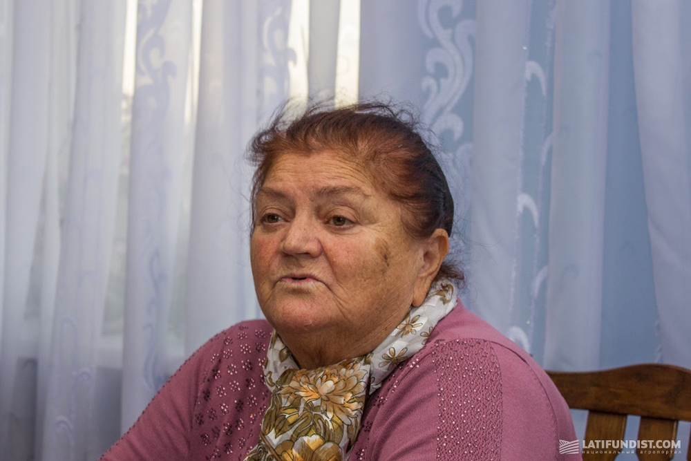 Устинья Чеботарева, председатель СПК «Россия»