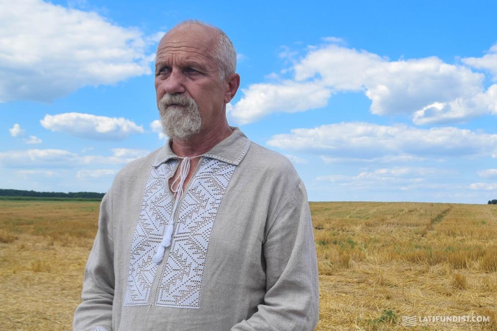 Владимир Иванюк, директор департамента по производству продукции растениеводства корпорации «Сварог Вест Груп» в Центральном регионе