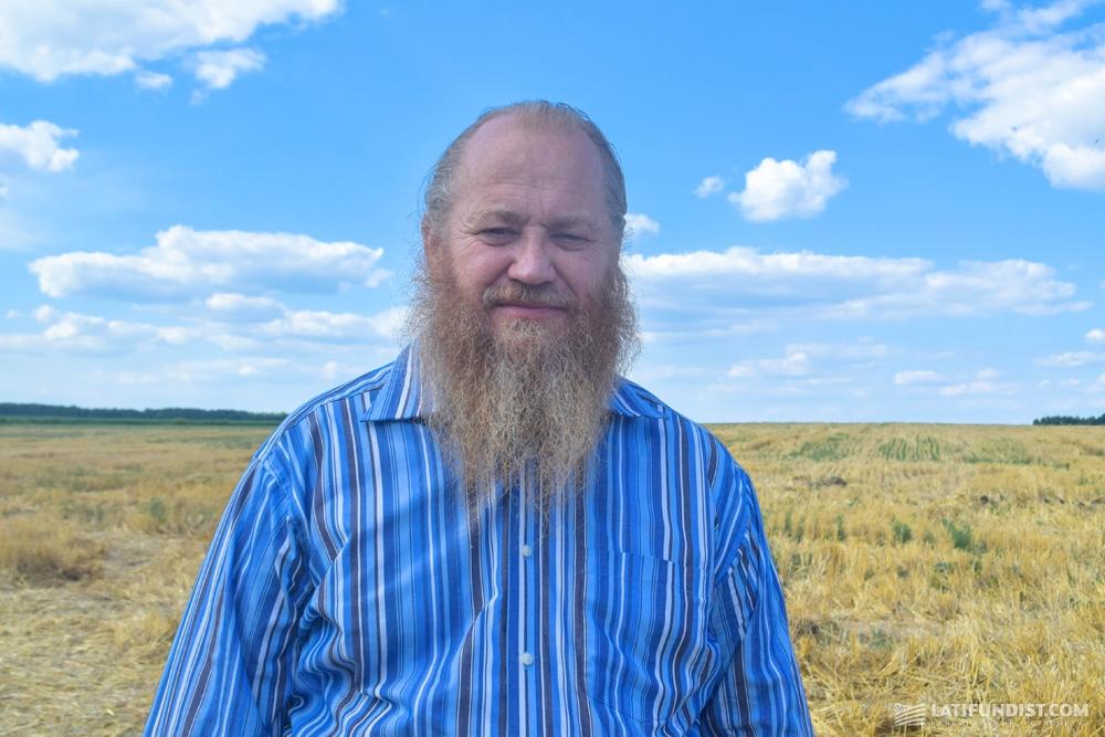 Алексей Дон, председатель фермерского хозяйства «Дона А.Ф.»