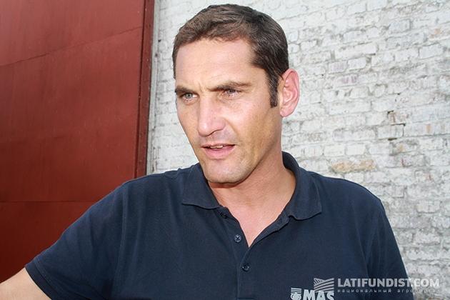Ян Мариотон, директор по продажам и маркетингу компании Maisadour Semences в Украине